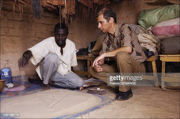 ExclusiveMarc Olivier A French Ethnobotanist And Consultant In Cosmetics Research For The Christian Dior Laboratories In BurkinaFaso On July 1 2005...