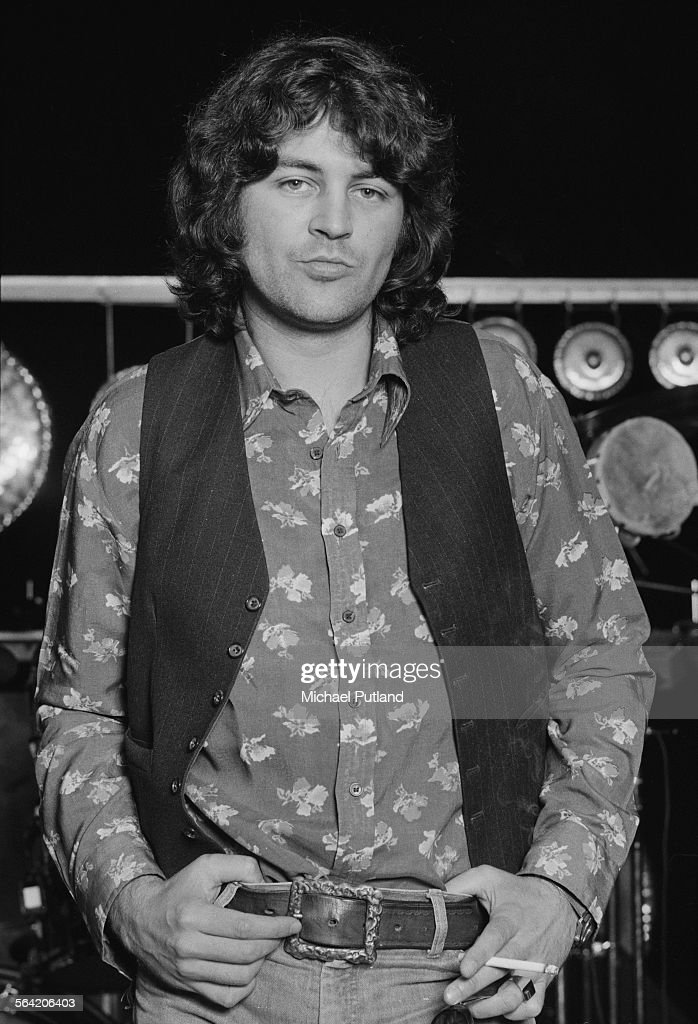 Ex-Deep Purple singer Ian Gillan, of English jazz-rock fusion group, the Ian Gillan Band, 9th April 1976.
