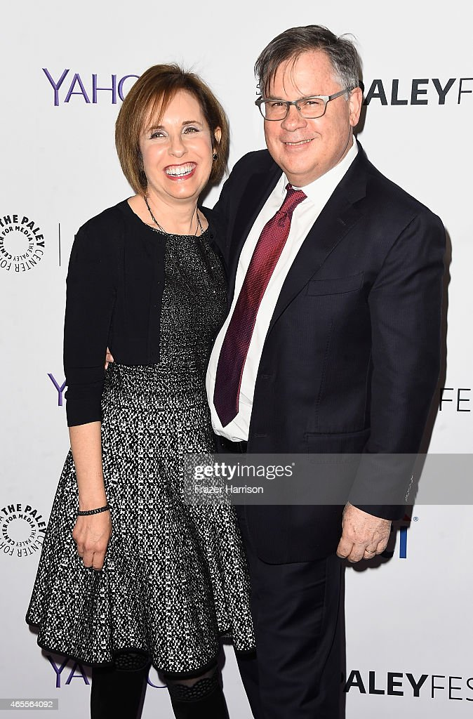 Exec Producers/Creators Robert King and Michelle King arrive at The Paley Center For Media's 32nd Annual PALEYFEST LA 'The Good Wife' at Dolby...