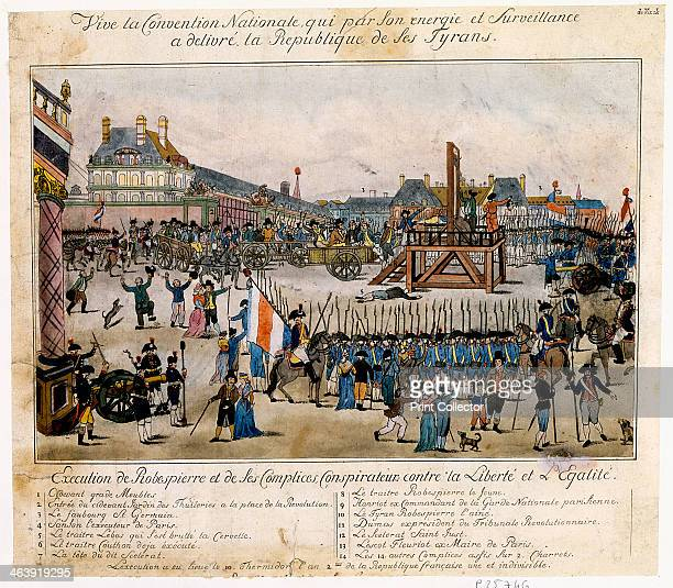Robespierre Execution Stock Photos and Pictures | Getty Images