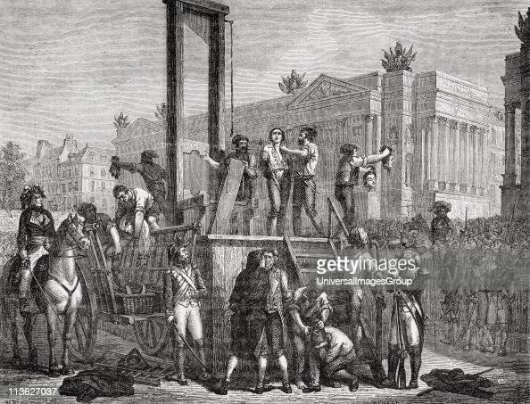Execution of Robespierre, Saint Just and others 28 July ...