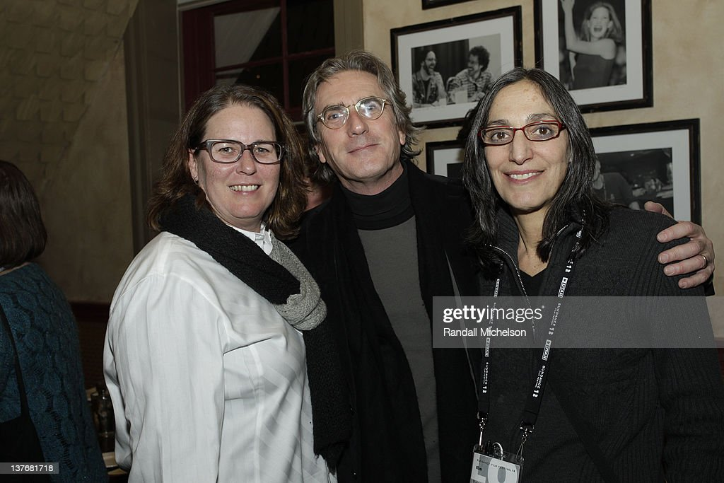 BMI Executive Alison Smith, Composer Scott Wilk and Composer Miriam Cutler attend BMI dinner during the 2012 Sundance Film Festival held at Zoom Restaurant on January 24, 2012 in Park City, Utah.