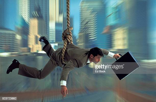 Executive at the End of His Rope