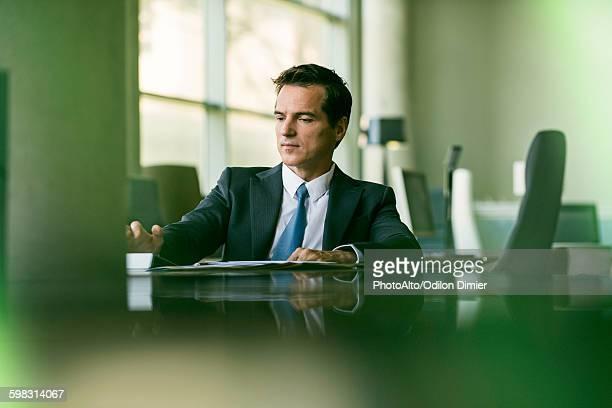 Executive at work