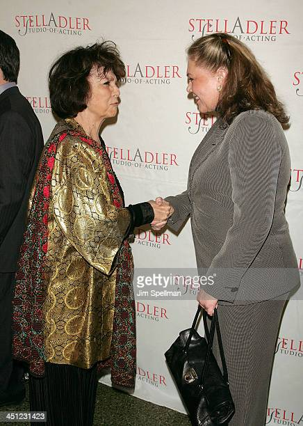 Executive Chair Ellen Adler and Actress Kathleen Turner arrives at the 4th Annual Stella by Starlight Gala Benefit Honoring Martin Sheen at Chipriani...