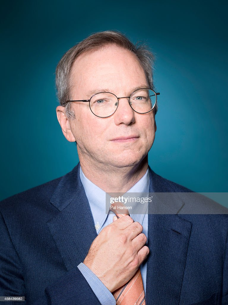 Executive chairman of Google, Eric Schmidt is photographed Die Zeit magazine on May 22, 2013 in London, England.