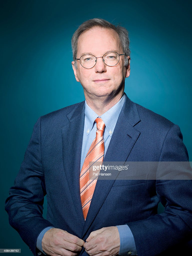 Executive chairman of Google, <a gi-track='captionPersonalityLinkClicked' href=/galleries/search?phrase=Eric+Schmidt&family=editorial&specificpeople=5515021 ng-click='$event.stopPropagation()'>Eric Schmidt</a> is photographed Die Zeit magazine on May 22, 2013 in London, England.