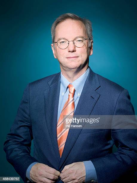 Executive chairman of Google Eric Schmidt is photographed Die Zeit magazine on May 22 2013 in London England