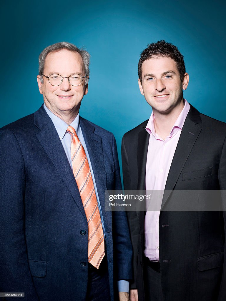 Executive chairman of Google, <a gi-track='captionPersonalityLinkClicked' href=/galleries/search?phrase=Eric+Schmidt&family=editorial&specificpeople=5515021 ng-click='$event.stopPropagation()'>Eric Schmidt</a> is photographed with <a gi-track='captionPersonalityLinkClicked' href=/galleries/search?phrase=Jared+Cohen+-+Empresario&family=editorial&specificpeople=9149066 ng-click='$event.stopPropagation()'>Jared Cohen</a> who is Director of Google Ideas for Die Zeit magazine on May 22, 2013 in London, England.