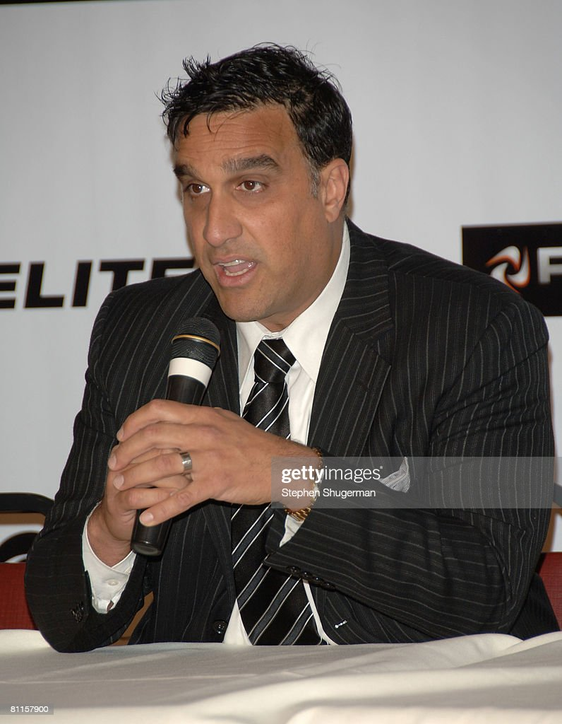 Executive Chairman ProElite Doug DeLuca speaks at CBS's 'Elite XC Saturday Night Fights' Press Conference at CBS Radford Studios on May 19, 2008 in Studio City, California.