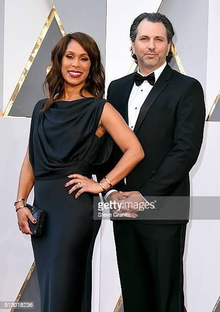 Executive Channing Dungey and Scott Power attend the 88th Annual Academy Awards at Hollywood Highland Center on February 28 2016 in Hollywood...
