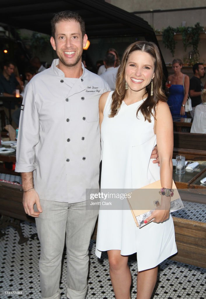 Executive Chef Seth Levine (L) and actress <a gi-track='captionPersonalityLinkClicked' href=/galleries/search?phrase=Sophia+Bush&family=editorial&specificpeople=203180 ng-click='$event.stopPropagation()'>Sophia Bush</a> attend <a gi-track='captionPersonalityLinkClicked' href=/galleries/search?phrase=Sophia+Bush&family=editorial&specificpeople=203180 ng-click='$event.stopPropagation()'>Sophia Bush</a>'s Birthday Party at Hotel Chantelle on July 8, 2013 in New York City.