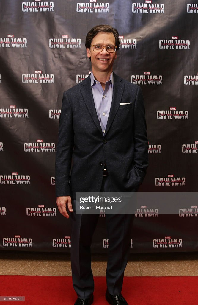 Executive Director, GA Film Academy Jeffery Stepakoff attends 'Captain America: Civil War' Screening at the Fox Theatre on May 1, 2016 in Atlanta, Georgia.