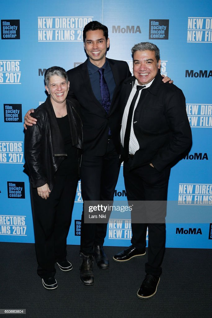 Executive Director Lesli Klainberg, Chief Curator of Film at MOMA Rajendra Roy and FSLC Deputy Director Eugene Hernandez attend the New Directors/New Films 2017 Opening Night of PATTI CAKE$ presented by MoMA & Film Society of Lincoln Center at MOMA on March 15, 2017 in New York City.