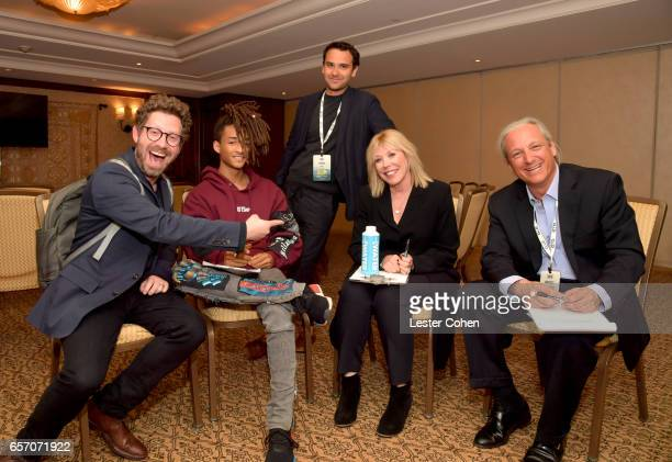 Executive director of Business Development at EMA Asher Levin JUST Water investor and actor Jaden Smith Niche cofounder Rob Fishman President/CEO of...
