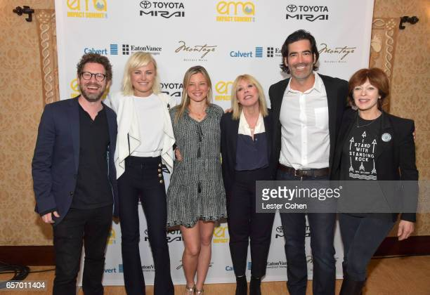 Executive Director of Business Development at EMA Asher Levin actor/activist Malin Akerman actor/activist Amy Smart president/CEO of EMA Debbie Levin...
