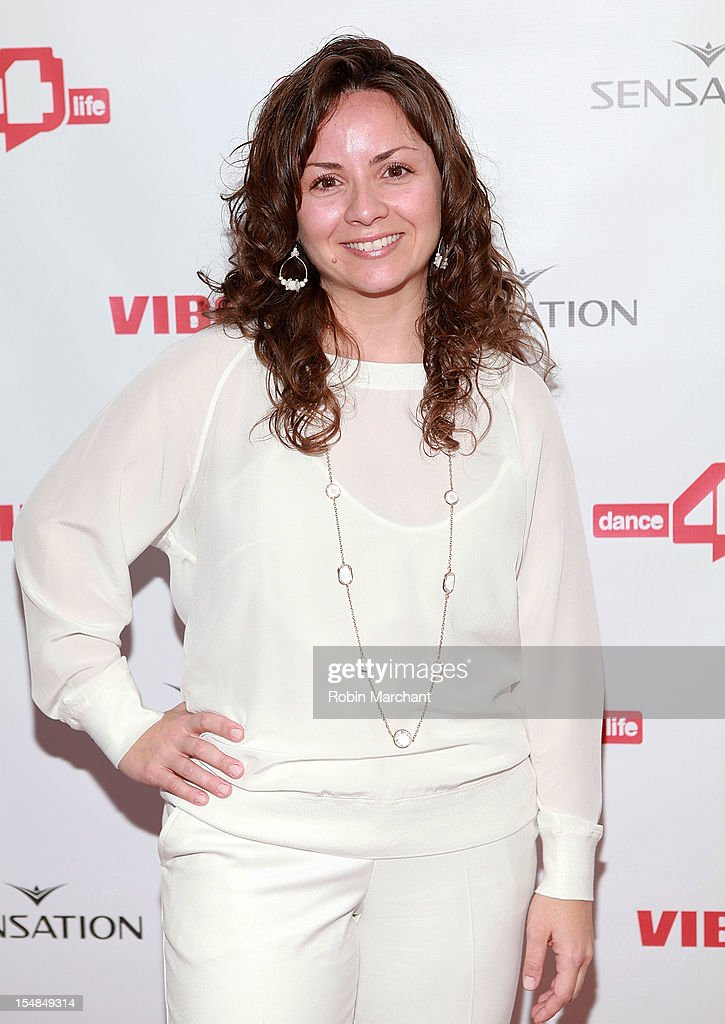 Executive Director of dance4life USA Michele Giordano attends dance4life Cocktail Party at Milk Studios on October 27, 2012 in New York City.
