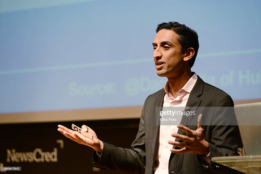 Executive Director of Digital Marketing at Dell Rishi Dave speaks onstage at the NewsCred Content Marketing Summit 2013 at The New Museum on September 18, 2013 in New York City.