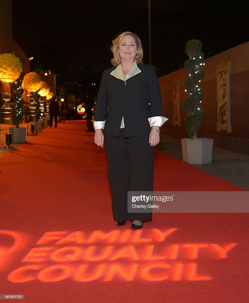 Executive Director of Family Equality Council Jennifer Chrisler attends the Family Equality Council LA Awards Dinner at The Globe Theatre at Universal Studios on February 9, 2013 in Universal City, California.