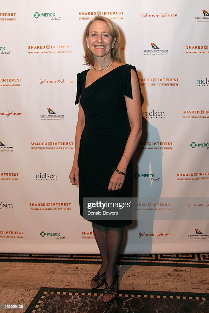 Executive Director of Shared Interest Donna Katzin attends the Shared Interest 19th Annual Awards Gala on March 18, 2013 in New York City.