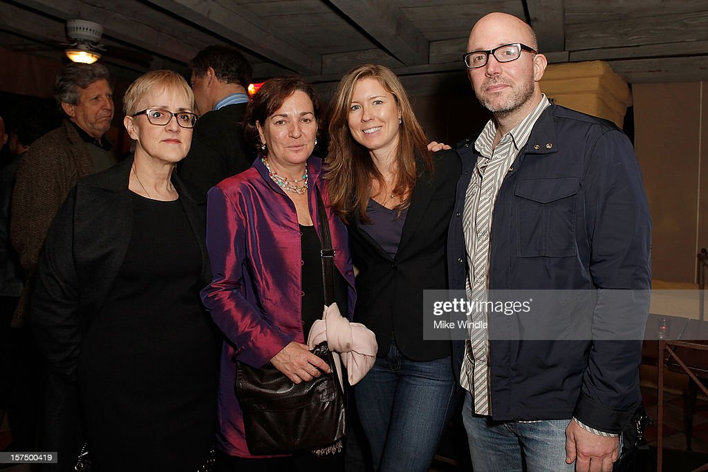 Executive director of Telefilm Carole Brabant (L) and guests attend Tribeca Film and Telefilm Canada host a special screening for Kim Nguyen's WAR WITCH Official Entry for the 85th Academy Awards - Foreign Language on December 3, 2012 in Los Angeles, California.