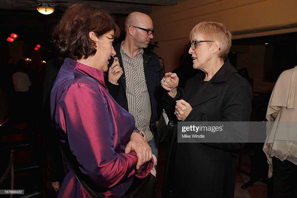 Executive director of Telefilm Carole Brabant (R) and guests attend Tribeca Film and Telefilm Canada host a special screening for Kim Nguyen's WAR WITCH Official Entry for the 85th Academy Awards - Foreign Language on December 3, 2012 in Los Angeles, California.