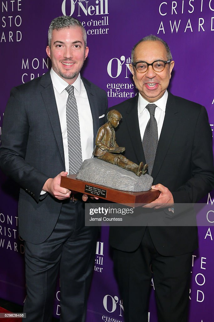 Executive Director of the Eugene O'Neill Theater Center Preston Whiteway and honoree George C Wolfe attend the 16th Annual Monte Cristo Award...