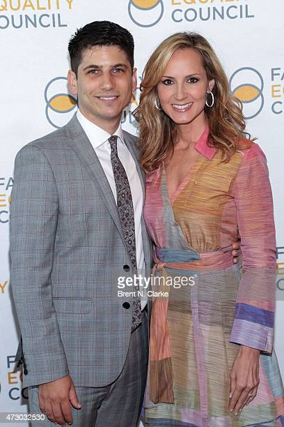 Executive director of the Family Equality Council Gabriel Blau and recording artist Chely Wright arrive for the 10th Annual Family Equality Council...