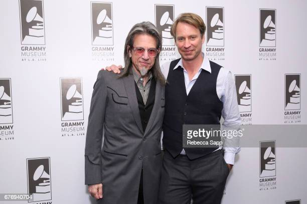 Executive Director of the GRAMMY Museum Scott Goldman and record producer Giles Martin attend Celebrating 50 Years of Sgt Pepper's Lonely Hearts Club...