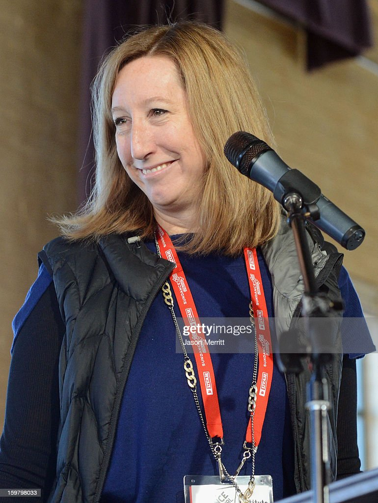 Executive Director of the Sundance Film Festival, Keri Putnam speaks at the 2013 Indian Paintbrush Producer's Award Luncheon during the 2013 Sundance Film Festival on January 20, 2013 in Park City, Utah.Indian Paintbrush has selected 2013 Sundance Film Festival selection Ain't Them Bodies Saints, as well as two of its producers (Toby Halbrooks and James M. Johnston) and their production company (Sailor Bear), as the recipients of the 2013 Indian Paintbrush Producer's Award and accompanying $10,000 grant. The award was announced today at the Producers Lunch, hosted by the Sundance Institute Feature Film Program.