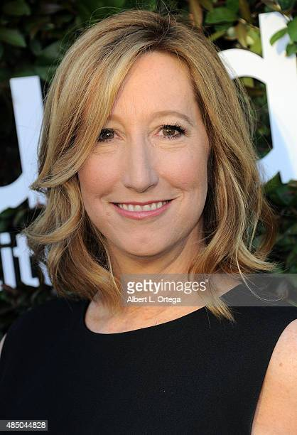 Executive Director of the Sundance Institute Keri Putnam arrives for the 2015 Sundance Institute celebration benefit held at 3LABS on June 2 2015 in...