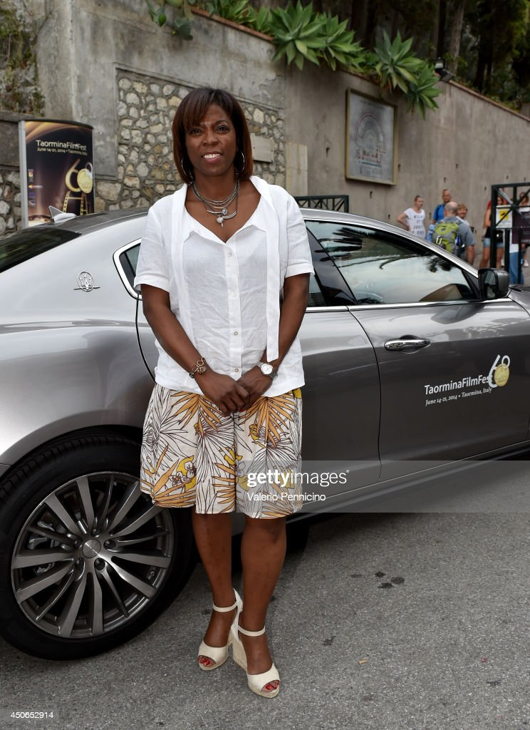 Executive Director of the United Nations World Food Programme <a gi-track='captionPersonalityLinkClicked' href=/galleries/search?phrase=Ertharin+Cousin&family=editorial&specificpeople=9100430 ng-click='$event.stopPropagation()'>Ertharin Cousin</a> attends the 60th Taormina Film Festival on June 15, 2014 in Taormina, Italy.