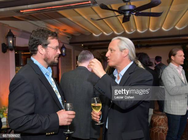 Executive director of the Water Defense Fund Ramsay Adams and New Pacific Realty CEO and EMA board chair David Margulies attend the EMA IMPACT Summit...