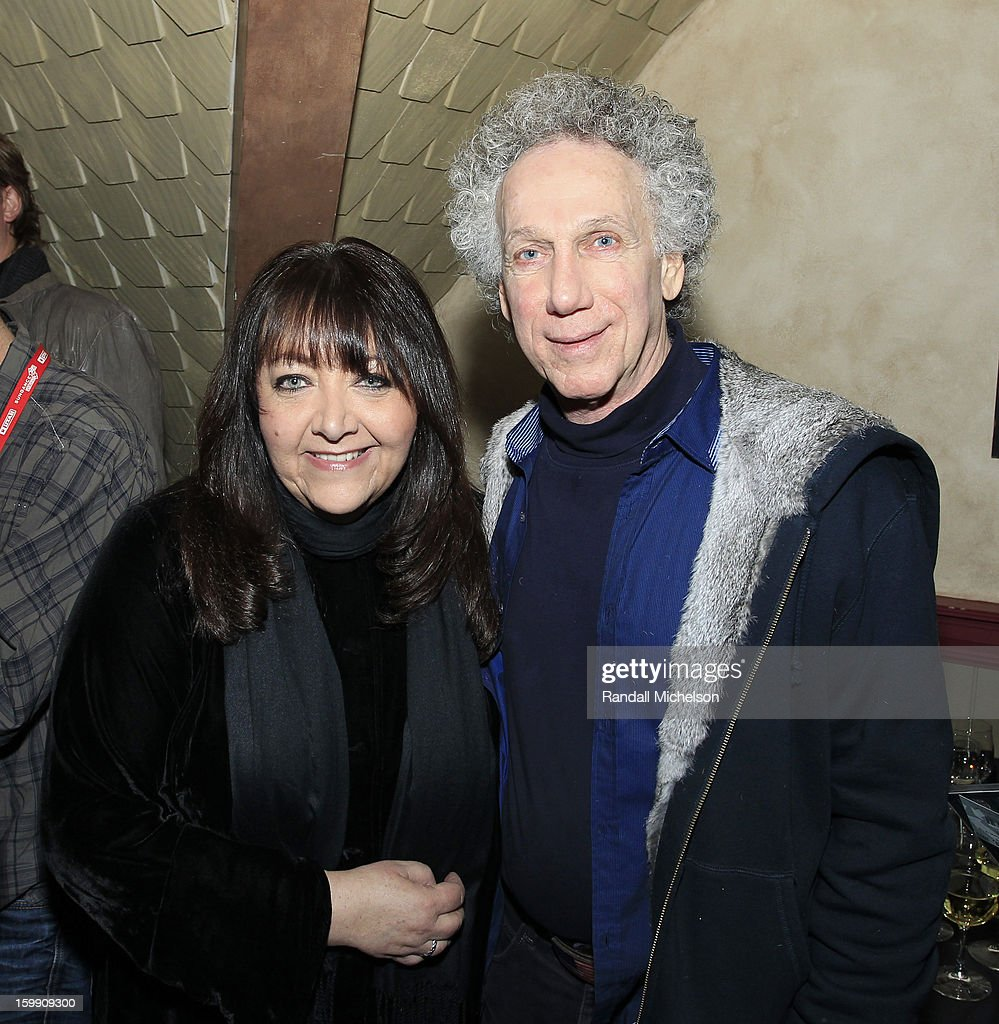 BMI Executive Doreen Ringer-Ross and photographer Bob Gruen attend the BMI Sundance Dinner at Zoom Restaurant on January 22, 2013 in Park City, Utah.