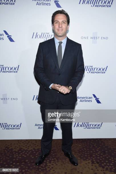 Executive Editor at The Hollywood Reporter Matt Belloni attends The Hollywood Reporter 35 Most Powerful People In Media 2017 at The Pool on April 13...