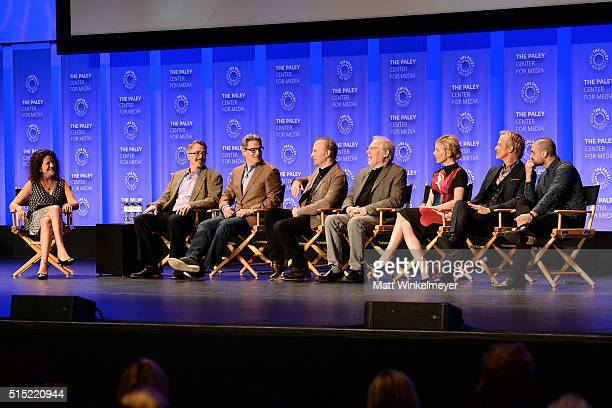Executive Editor at Variety/Moderator Debra Birnbaum writers/Executive Producers Vince Gilligan Peter Gould actors Bob Odenkirk Michael McKean Rhea...