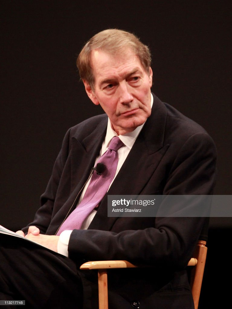 Executive editor/anchor Charlie Rose speaks during Tribeca Talks Industry The Business Of Entertainment At The 2011 Tribeca Film Festival at SVA...
