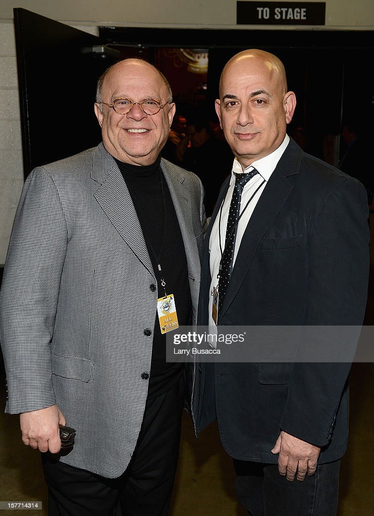 Executive Entertainment Counsel to the Academy Joel Katz and Executive Vice President, Specials, Music and Live Events of CBS Entertainment Jack Sussman attend The GRAMMY Nominations Concert Live!! held at Bridgestone Arena on December 5, 2012 in Nashville, Tennessee.