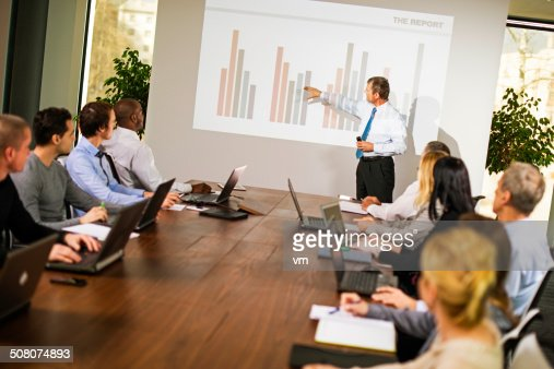 Executive Explaining Graph