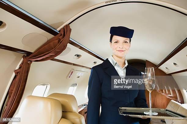 Executive flight attendant