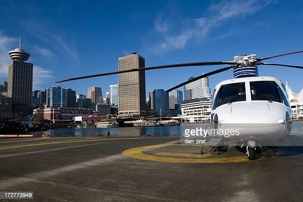 Hélicoptère exécutif du centre-ville