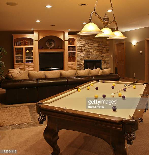 Executive Home Pool Table & Entertainment System