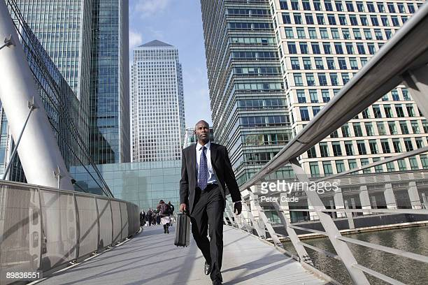executive in canary wharf