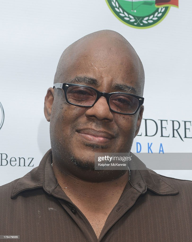 Executive Lamont Pete arrives to the 4th Annual Alex Thomas Celebrity Golf Weekend Pool Party hosted by NFL's Jacoby Jones of the Baltimore Ravens at Hollywood Roosevelt Hotel on July 14, 2013 in Hollywood, California.