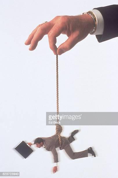 Executive losing control