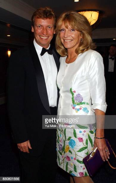 TV executive Nigel Lythgoe and his wife arriving for the Seventh Annual Broadcast Awards which were held at the Le Meridian Park Lane London The...
