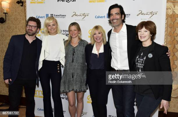 Executive of Business affairs Asher Levin actress Malin Akerman actress Amy Smart EMA President and CEO Debbie Levin Carter Oosterhouse and actress...