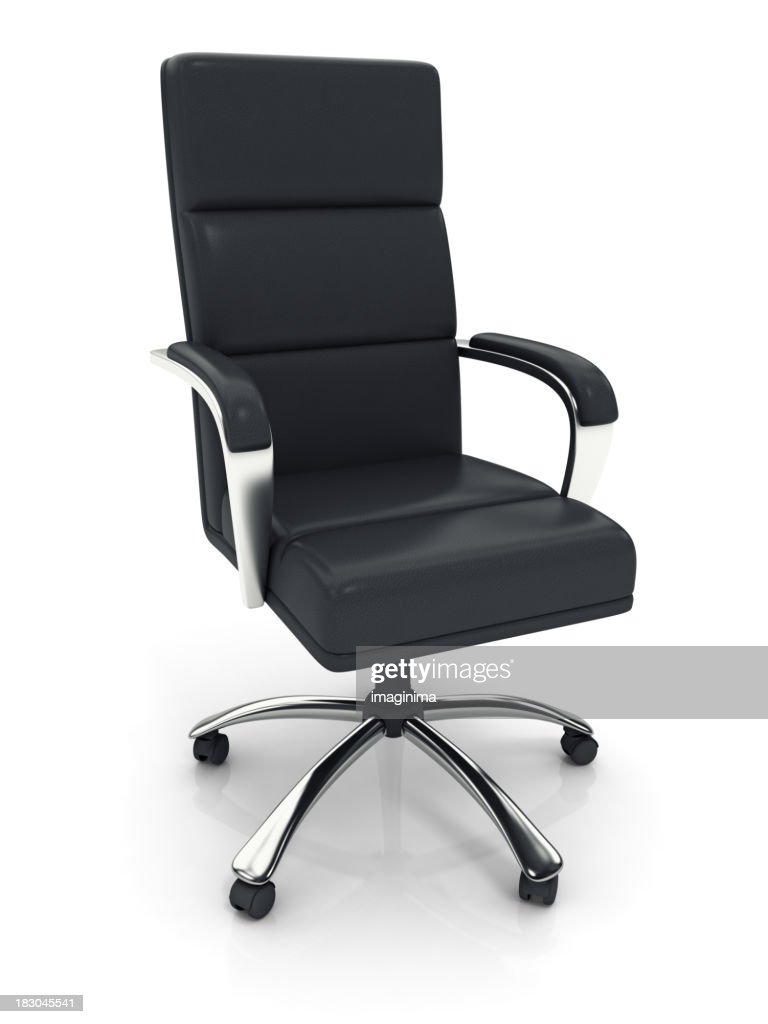 Executive Office Chair with Clipping Path