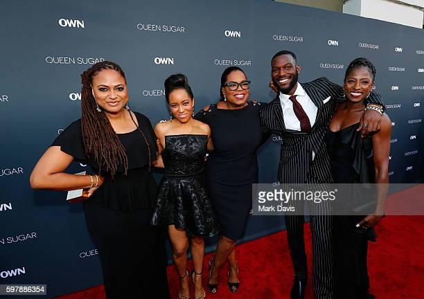 Executive prodcuer/creator Ava DuVernay actress DawnLyen Gardner executive producer Oprah Winfrey and actors Kofi Siriboe and Rutina Wesley attend...