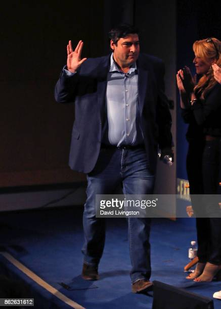 Executive producer Adam F Goldberg attends 'The Goldbergs' 100th episode celebration at The Paley Center for Media on October 17 2017 in Beverly...